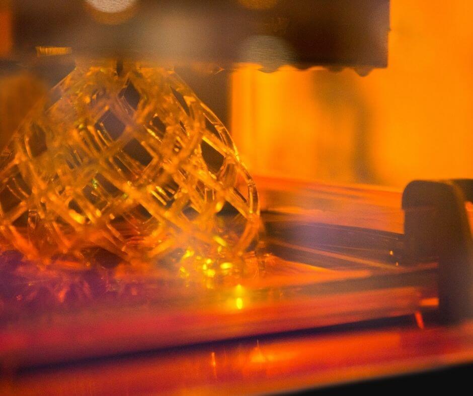 impressão 3D de resina