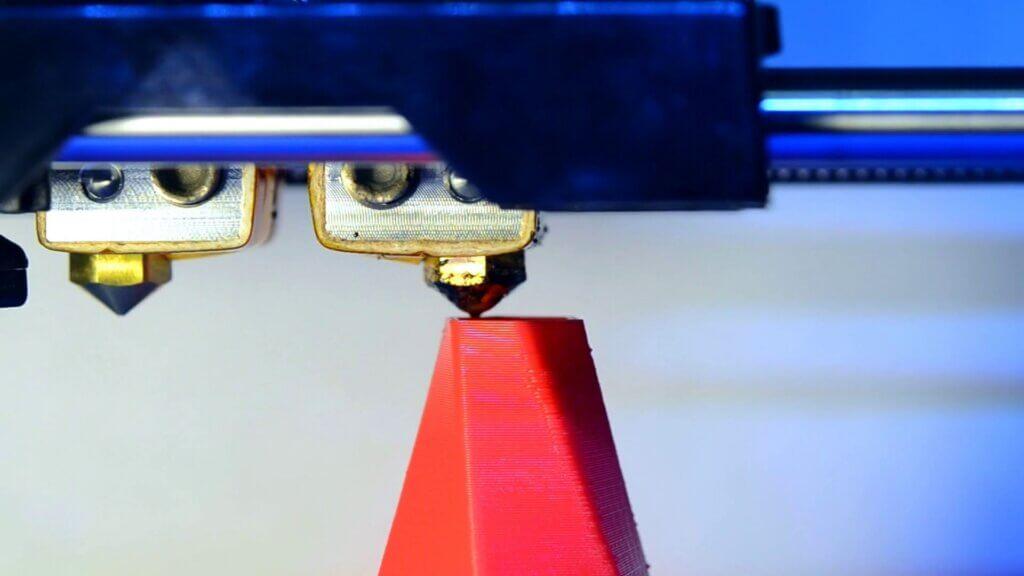 tecnologia de impressão 3D por extrusão de filamento